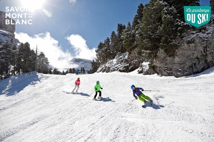 séjour ski en famille