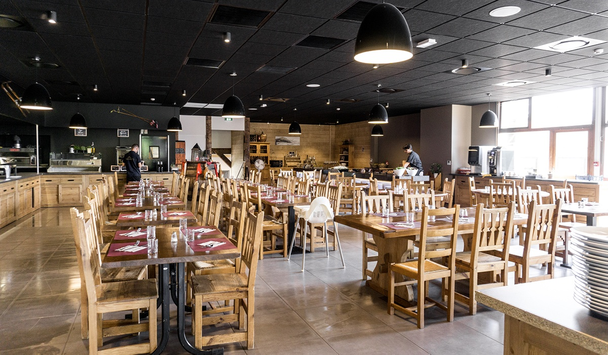 novueau restaurant agrandie annecy