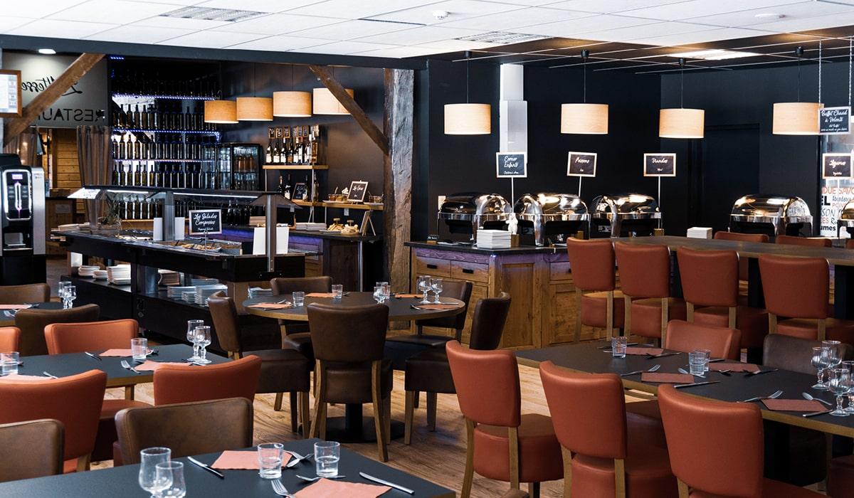 Village club avec restaurant rénové léman