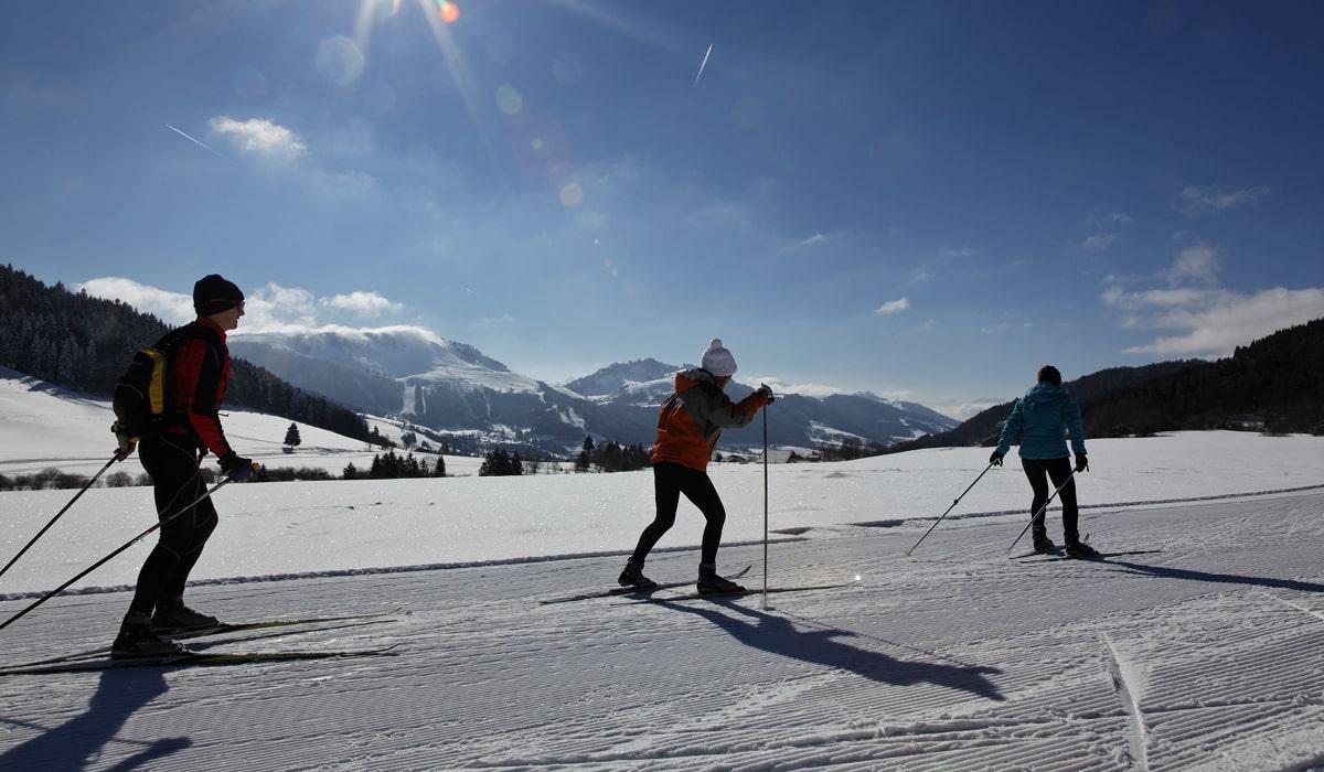 ski de fond en haute savoie