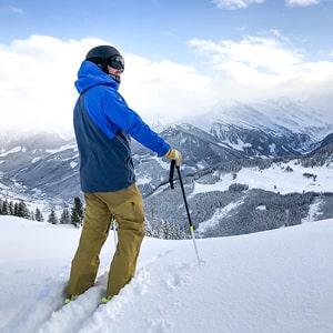 Ski sur les pistes de Valloire