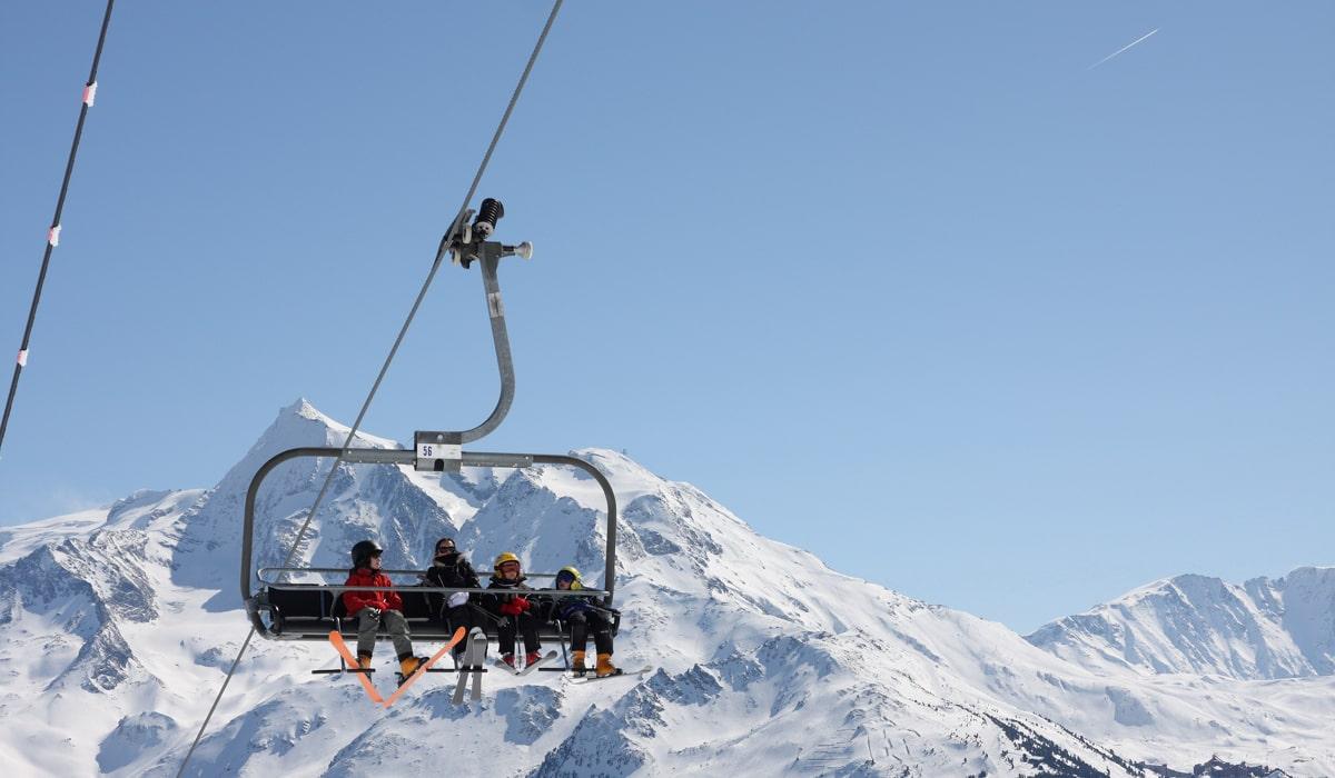 remontée mécanique de valloire ski en savoie