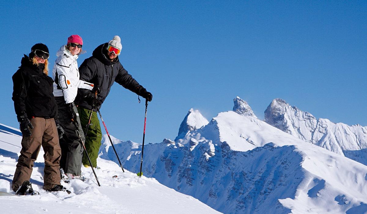 Ski sur le domaine galibier thabor