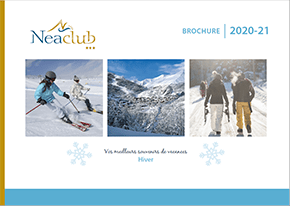 brochure hiver 2021 chez NEACLUB