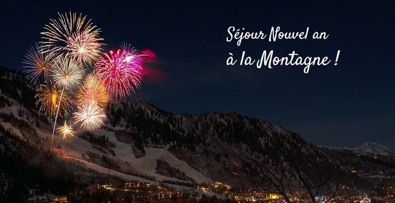 Nouvel an au ski en station village