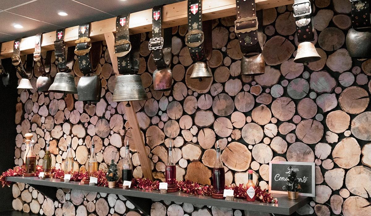 restaurant rénové décoration savoyarde